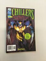 Chillers Wolverine X-men Blood Storm Marvel Comics W/ Poster Paperback (MC03)