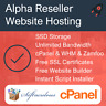 Alpha Reseller Hosting - Unlimited Everything, Free SSL Certificates + More!