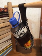 Nalgene Water Bottle Holder Home Made Dark Leather Chain