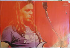 DAVE GILMOUR (PINK FLOYD): POSTER   !!!!(ENGLISH MAGAZINE)