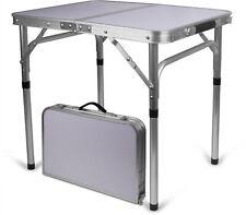 Aluminium Campingtisch, klappbar, Tischfläche: 45 cm x 60 cm, variable Höhe