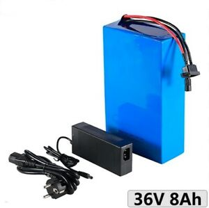 Lithium Ion Li-ion Battery 36V 8AH Rechargeable Electric Scooter E Bike Bicycle