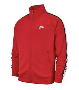 Nike Sportswear NSW Tribute Track Jacket Red Black XXL MSRP $70 NWT