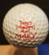 There's Something About Mary Golf Ball Promotional Movie Promo 1998 Wilson Used