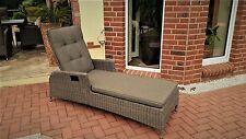 Polyrattan Gartenliege Polyrattanliege Liege Relaxliege Sonnenliege Gartenmöbel