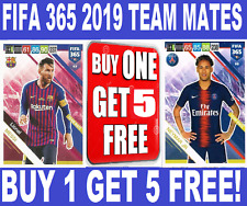 Panini Adrenalyn XL FIFA 365 2019 TEAM MATES ☆ FOOTBALL CARDS ☆ BUY 1 GET 5 FREE