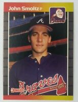 1989 89 Donruss John Smoltz Rookie RC #642, Atlanta Braves, HOF