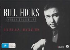 Bill Hicks - Comedy Double Act, Revelations / Relentless (DVD, 2015)