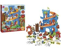 Majestic Knights Siege 100 Pieces Castle Fortress Children Kids Toy Playset Gift