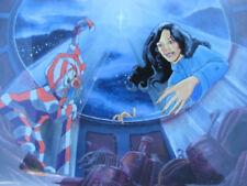 80s ANIMATION PRODUCTION CEL CHRISTMAS CARTOON Filmation  SHERRY WHEELER
