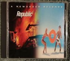 New Order Republic Cd (a32) Electronic Rock Pop Synth