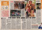 Coupure de presse Clipping 1987 Didier Barbelivien (2 pages)