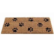 Gardman Paw Print Patterned Coir Doormat 82490  23x53cms PVC Backed Insert