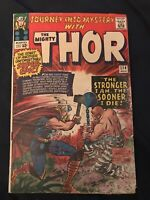 JOURNEY INTO MYSTERY (THOR) #114 (1965) KEY ISSUE: 1st Absorbing Man - GD