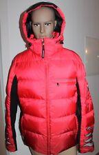 Bogner Herren Skijacke Ski Jacke Flames D Rot Schwarz Größe 52 L Neu mit Etikett
