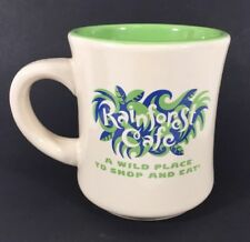 Rainforest Cafe Coffee Cup Mug 1999 Tan and Green