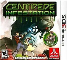 Centipede: Infestation 3Ds New factory sealed