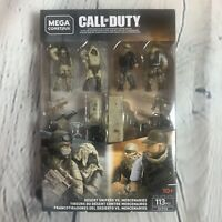DESERT SNIPERS VS MERCENARIES Troop Pack Mega Construx Call of Duty GCP06 NWT