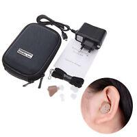 Mini digital recargable en el oído Audífono Amplificador de tono ajustable K-188