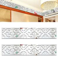 10PCS 3D Mirror Acrylic Stickers Living Room Bedroom DIY Wall Home Decoration