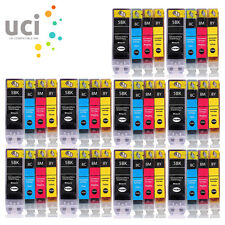 40 INK CARTRIDGES FOR CANON PIXMA iP3300 iP3500 iP4200 iP4300 iP4500 PGI5 CLI8