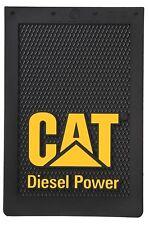 "Caterpillar CAT Diesel Power 12"" x 18"" Semi Truck Mud Flaps/Splash Guards-Set"