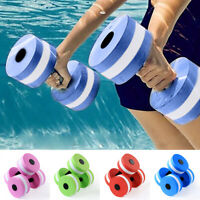 Water Weight Workout Aerobics Dumbbell Aquatic Barbell Fitness Swimming USA