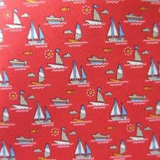 Cravates, nœuds papillon et foulards rouges Salvatore Ferragamo pour homme en 100% soie