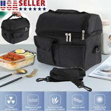 Insulated Lunch Box Tote Bag Travel Men Women Adult Hot Cold Food Thermal Cooler