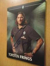 67660 Torsten Frings DFB Werder Bremen 2015-2016 orig. signierte Autogrammkarte