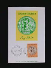 Vatican MK 1970 MEDAGLIA PIO IX maximum carta carte MAXIMUM CARD MC cm c6217