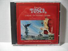 PUCCINI'S TOSCA OPERA SELECTIONS: MARIA CALLAS, G. DI STEFANO, T.GOBBI/DI SABATA