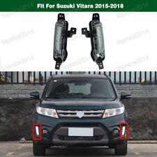 2PCS LH & RH DRL Daytime Running Light Fog Light For Suzuki Vitara 2015-2018