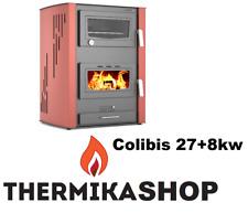 stufa a legna idro con forno Colibis 27+8 kw