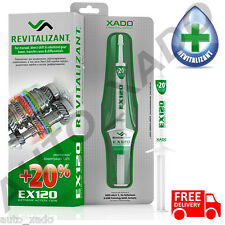 XADO EX120 Revitalizant Manual transmissions, differentials additive treatment