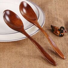 Wooden Tea & Coffee Spoon Utensil Cereal Tableware Dinnerware Cutlery Cucharas