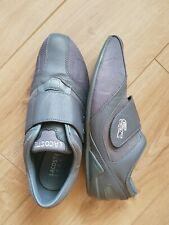 Lacoste Sport Gray Leather Trainers shoes pumps size UK 6.5 EU 40 USA 7.5
