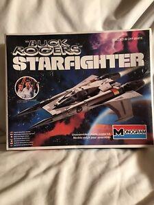 """Buck Rogers"" Starfighter Sealed by Monogram"