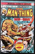 MAN-THING 1975 #16 HIS FIRST VERY OWN TITLE F/VF CROCS AND THE MAD VIKING