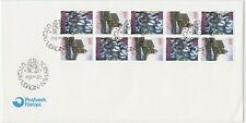 Faroe Islands 1995 Christmas, Torshavn Church, Booklet Pane, First Day Cover