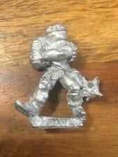 Chaos Thug With Chain Flail #3  Metal Warhammer Fantasy 80's OOP
