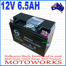 12V 6.5AH Battery for 50cc 110CC 125CC ATV QUAD Bike Gokart  Buggy Dirt 00A