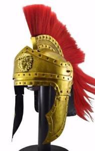 Greek Corinthian Helmet roman Medieval Knight 300 Spartan costumes unique