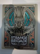 steelbook steel book box strange brigade no game sans jeu