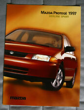 MAZDA PROTÉGÉ Berline Sport 1997 dealer brochure - French - Canadian Market