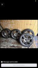 """Audi 7 Twin Spoke Wheel 9 x 20"""" ET46 4E0601025BE NO TYRES"""