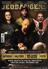 Anthrax - Halford - Rush - Rage Against The Machine Jedbangers # 45 Magazine Arg