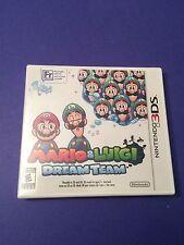 Mario & Luigi Dream Team *First Print White Case* (3DS) NEW