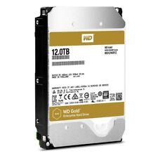 "Western Digital Gold 12TB SATA III 3.5"" Hard Drive - 7200RPM, 256MB Cache"