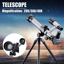 Astronomical Refractor Telescope Refractive Eyepieces Tripop +Compass Kids Gift